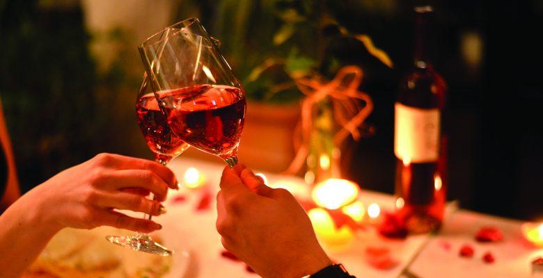 Herringbone Luxury Sweetheart Dinner