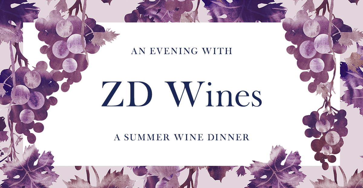 Herringbone An Evening with ZD Wines