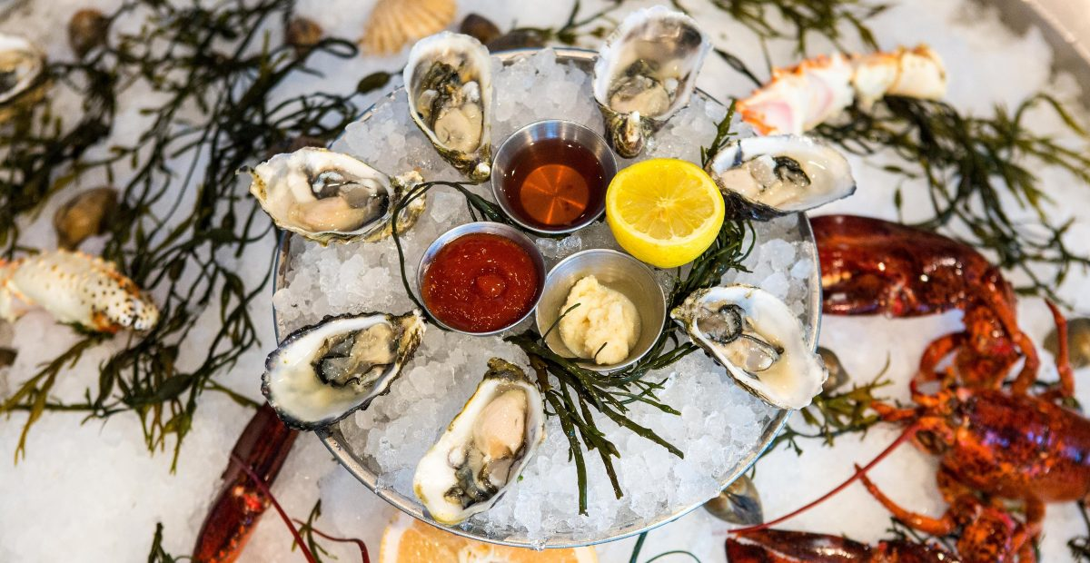 Herringbone Daily Oyster Hour Starts July 31