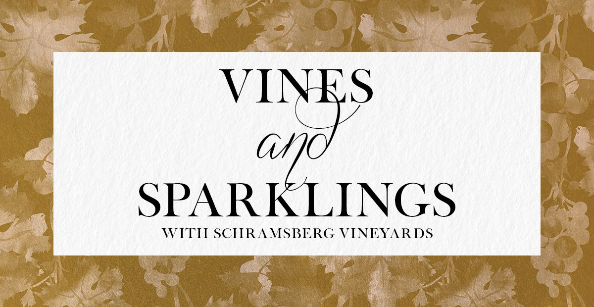 Herringbone Vines & Sparklings
