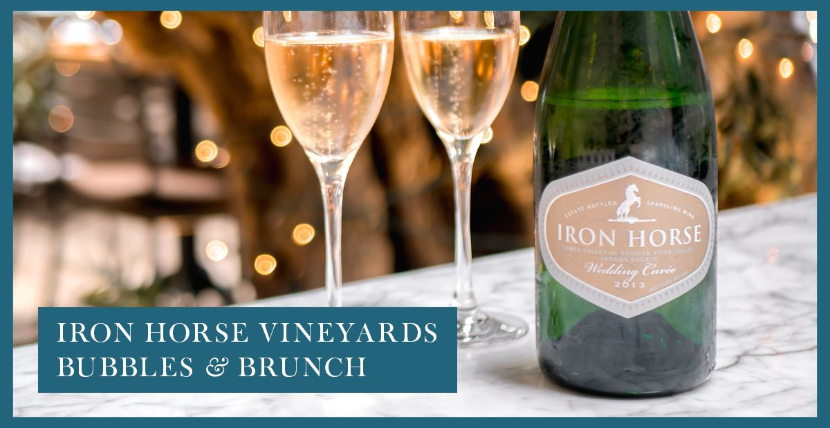 Bubbles & Brunch with Iron Horse Vinyards