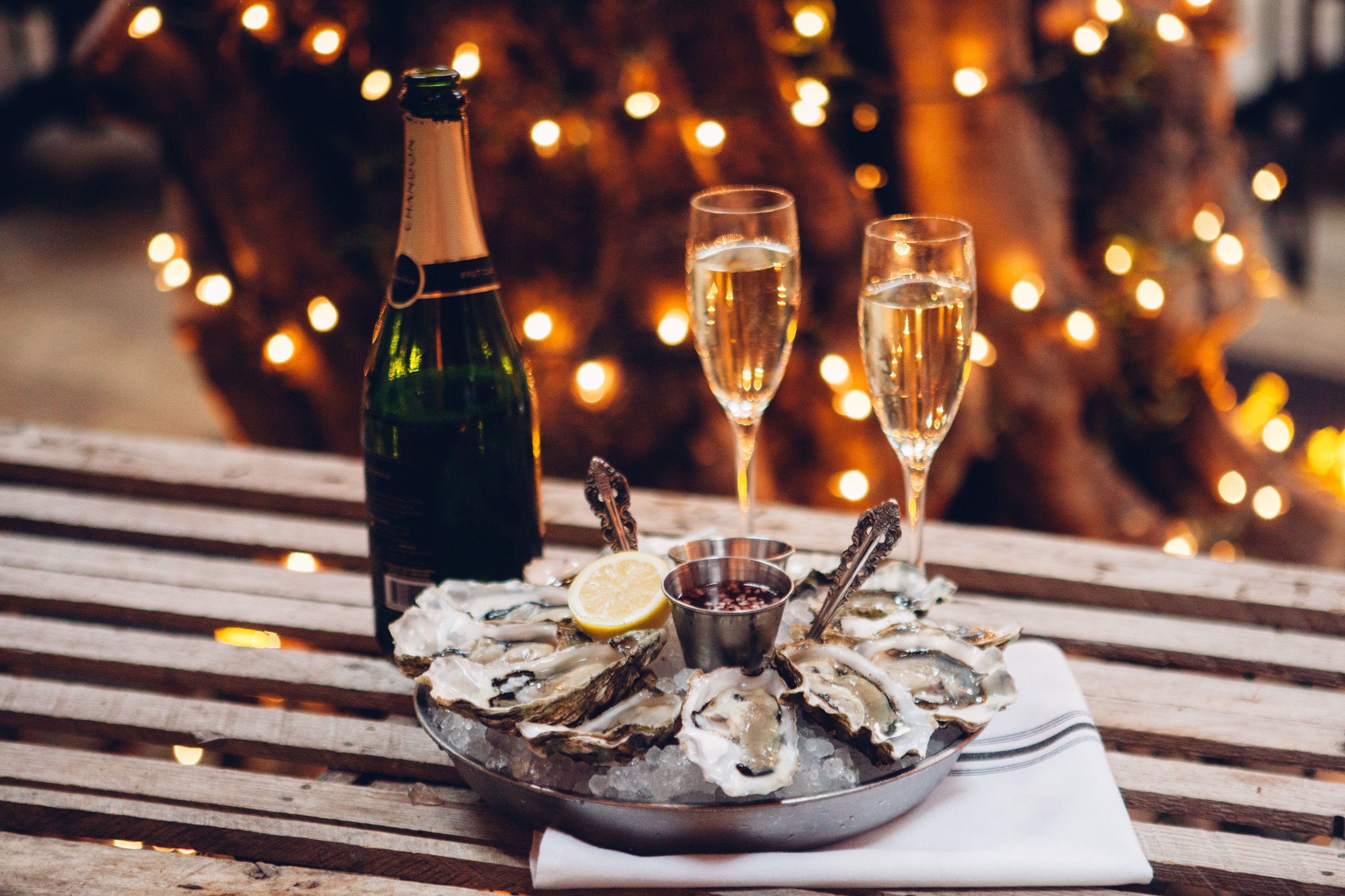 The Perfect Match: oysters and wine