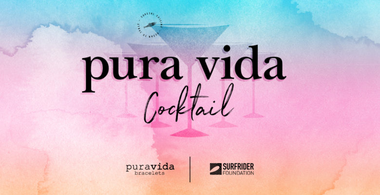 Herringbone Sip & Support for Surfrider Foundation featuring Pura Vida Bracelets